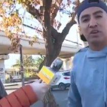 """""""El 5G está detrás de esto"""": joven chileno interrumpe transmisión televisiva para negar al coronavirus"""