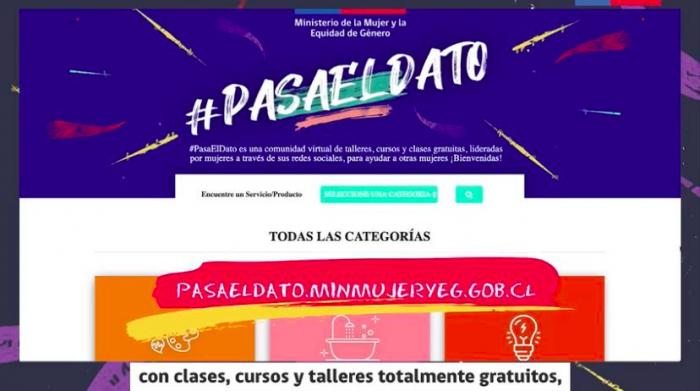 #PasaElDato: Ministerio de la Mujer lanza sitio de ayuda virtual