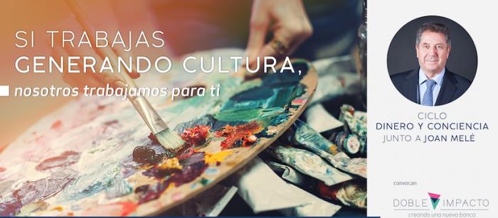 """Charla """"Las Industrias Creativas como motor de cambio"""" con Joan Melé vía online"""