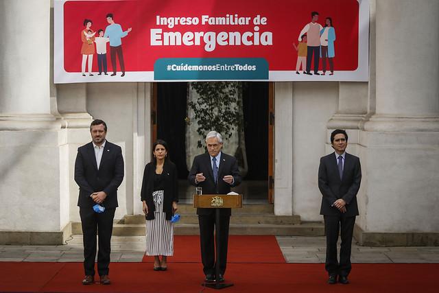"""Gobierno ingresa con discusión inmediata el Ingreso Familiar de Emergencia y el vicepresidente del Senado lo califica como una """"burla"""""""