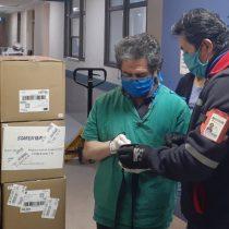 CorreosChile entrega un millón de mascarillas para personal de salud del písa