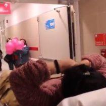 Mujer que superó el coronavirus fue dada de alta entre aplausos en el Hospital de Ovalle
