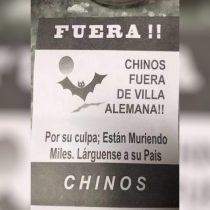 Villa Alemana: Gobierno se querella contra responsables de panfletos xenófobos dirigidos a chinos