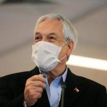 Piñera entrega balance de contagiados en tono 18-O: