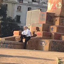 Piñera en Plaza de la Dignidad: la ola de críticas que desató el nuevo