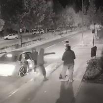 Delincuentes realizan violento asalto a equipo de prensa de CNN Chile y CHV en plena calle de Vitacura