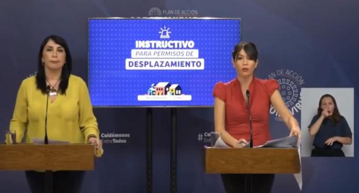 """Gobierno recurre otra vez a fórmula """"didáctica"""" de dupla Rubilar-Martorell para anunciar nuevas reglas en comunas en cuarentena"""