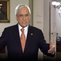 Piñera explica razones de las medidas adoptadas y descarta vuelta a clases el 27 de abril