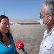 Sorprenden a directora regional del Sernatur tomando sol en una playa de Arica haciendo caso omiso a las autoridades