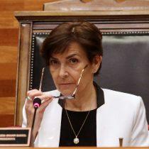 Presidenta del TC por audio del ministro Vásquez: