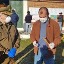 Carabineros recibe donación de escudos faciales fabricados en la Universidad de Magallanes