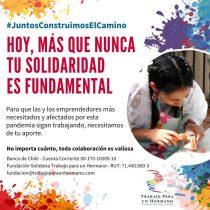 Fundación Trabajo para un Hermano lanza campaña para levantar a la microempresa en medio de la pandemia del coronavirus