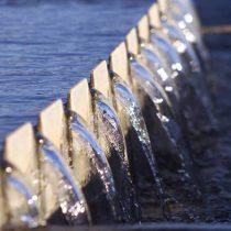 El agua, una víctima del estallido social