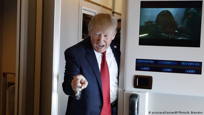 Trump amenaza con