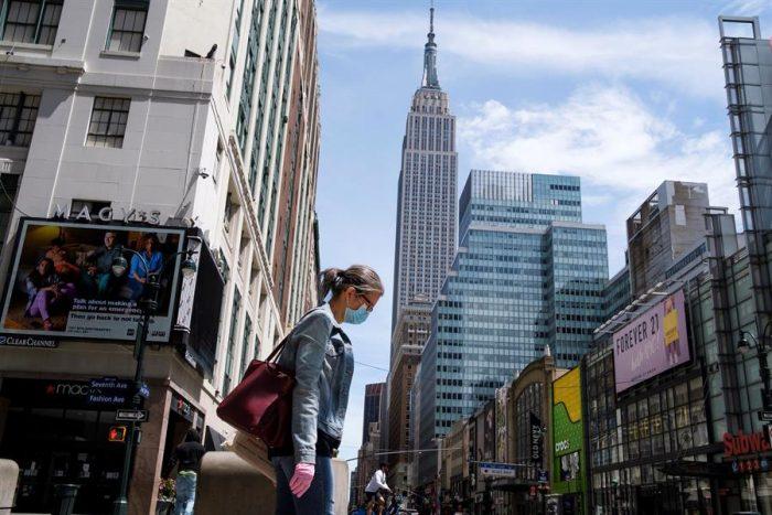 Efecto Covid-19 en EEUU: economía cae 5 % en primer trimestre y hay 41 millones de cesantes