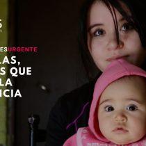 """""""Por ellas"""": la campaña que busca llevar ayuda a las madres adolescentes de la comuna de La Pintana"""