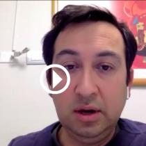Luis Enberg, presidente de la Sociedad Chilena de Medicina de Urgencia: «Las urgencias en los hospitales públicos están colapsadas y los funcionarios en profundo estrés»