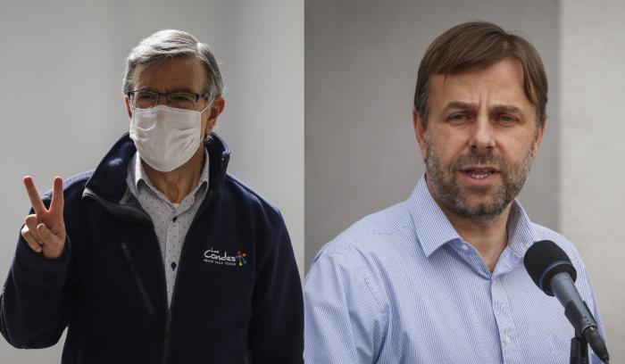 La sombra de Lavín: alcalde Codina de Puente Alto irrumpe como el mejor evaluado en el manejo de la pandemia
