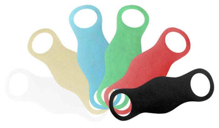 Ecológicas y económicas: las mascarillas hechas con material de bolsas reutilizables