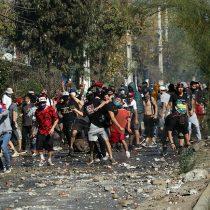 """UDI quiere mano dura por protesta en El Bosque: """"El Gobierno debe aplicar las máximas sanciones"""""""