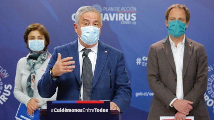 """La queja de Mañalich en el balance diario del Covid-19: """"Hay líderes que se esfuerzan por mostrar que el Gobierno va a fracasar"""""""