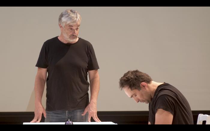 """Fragmento de obra """"Encuentros breves con hombres repulsivos"""" de Ciclo Teatro Hoy"""