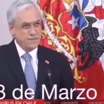"""Del """"estamos preparados"""" al """"tenemos que ser realistas"""": el giro de Piñera desde el inicio de la pandemia"""