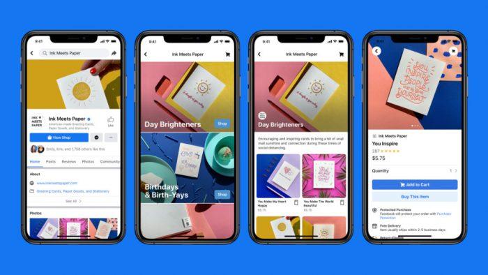 Facebook lanza Shops, la herramienta que permite crear una tienda virtual y facilitar el comercio electrónico