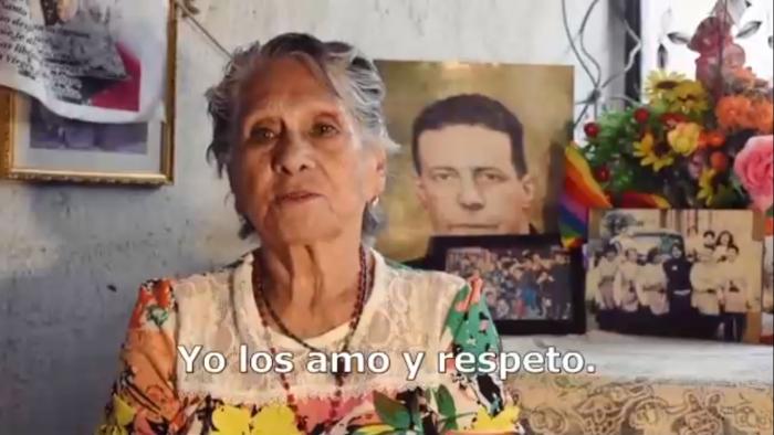 """""""El amor es amor"""": mujer de 85 años llama a respetar a familiares LGBTI"""