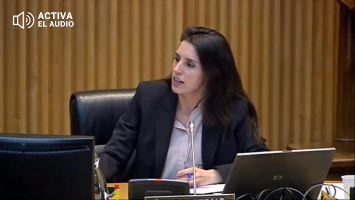 """""""Hay condiciones estructurales de desigualdad que afectan de forma diferente y peor a las mujeres"""": ministra de la Igualdad encara a diputada del partido Vox en España"""