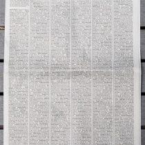 New York Times llena portada con 1.000 obituarios de fallecidos por COVID-19