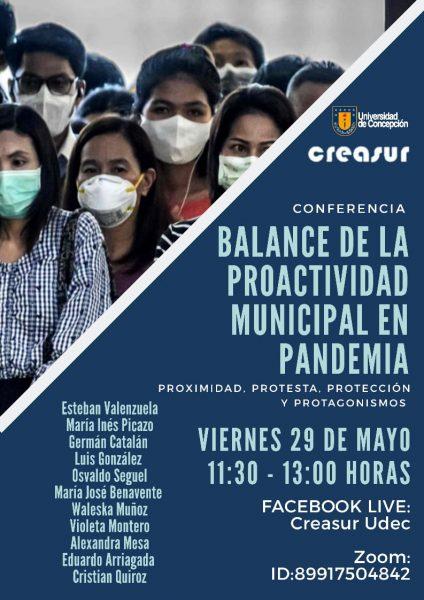 Conferencia online realizada por la Universidad de Concepción hará un