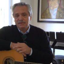 Presidente argentino recordó al 'Flaco' Spinetta para enviarle un mensaje a los adolescentes en pleno confinamiento obligatorio
