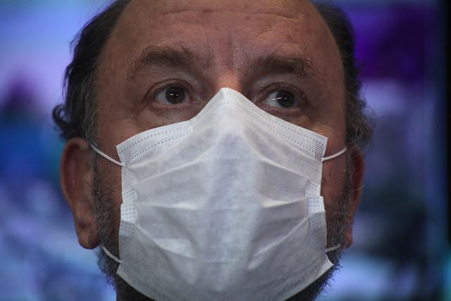 Alfredo Moreno dio positivo en examen de COVID-19 y es el primer contagiado del gabinete