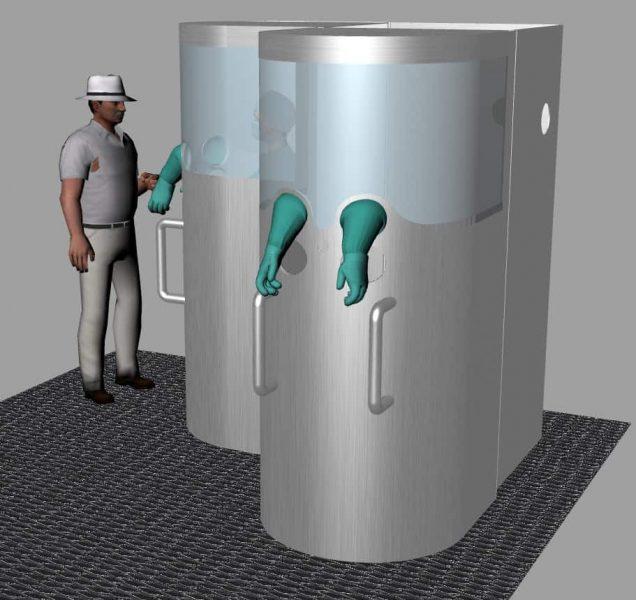 U. Austral propone innovadora cabina de toma de muestras para detectar COVID-19 que protege a profesionales de salud