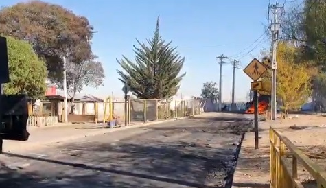 En medio de la cuarentena: se registran disturbios en Cerro Navia tras manifestación de vecinos