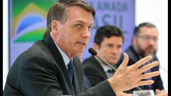 Escándalo en Brasil: difunden video con explosivas declaraciones de Bolsonaro sobre la Policía Federal