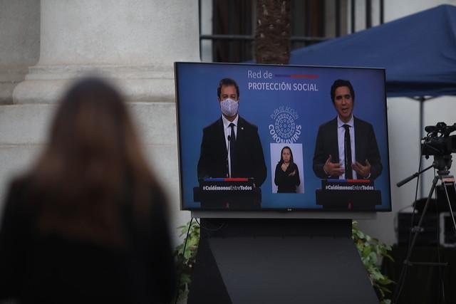 """""""La CMF tiene un portal de reclamos"""": la respuesta del ministro Briones a las críticas de las pymes por los créditos Covid-19"""