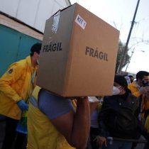 """""""Alimentos para Chile"""" sigue sumando reclamos: Sadi Melo denuncia recorte de 5 mil cajas para El Bosque"""