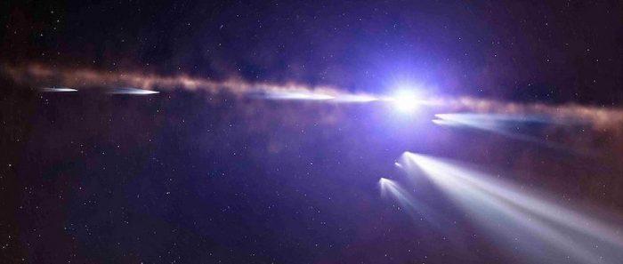 "Ciclo Astronomía en tu casa: Charla ""¿Exo-qué? ¡Exo-cometas!"" vía online"