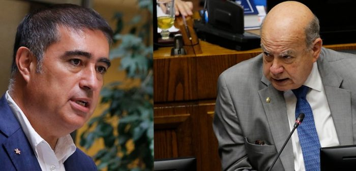 """Dupla Desbordes-Insulza lanza documento con los """"contenidos para un acuerdo nacional"""""""