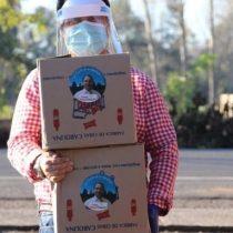 """""""Seguramente lo hace con la plata de las pesqueras"""": diputado Espinoza arremete contra Sauerbaum (RN) por la entrega de cajas de alimento con su foto"""