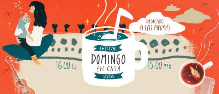 Nueva edición del Festival «Domingo en Casa» vía online