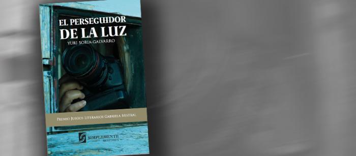 Libro «El perseguidor de la luz»: Novela ganadora de los Juegos Literarios Gabriela Mistral se publica en Chile
