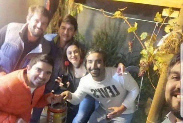 Funcionarios de Gobierno y municipales protagonizan fiesta en Valdivia en medio de la pandemia