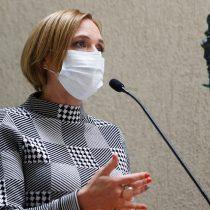 """Gobierno quita urgencia al seguro para los trabajadores a boletas: senadora Goic pide al Ejecutivo """"entregar un beneficio claro ahora"""""""
