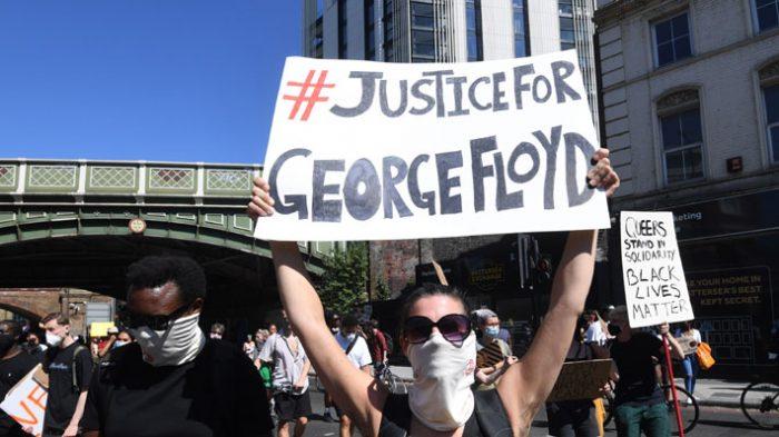 Protestas en Estados Unidos: la caravana por George Floyd y por todos los demás