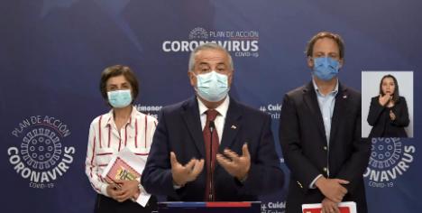 """Mañalich no cede: ministro insiste en """"nueva normalidad"""" y casos de Covid-19 se disparan a nuevo peak de 4.895 casos"""