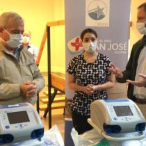 Minsal visita la región de Los Lagos y hace entrega de dos ventiladores mecánicos al Hospital Base de Osorno