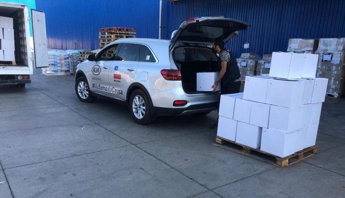 Donan de kits de alimentacióna 250 personas en situación de vulnerabilidad